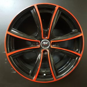 AW4001 17X7.5 BK RED FACE (1)